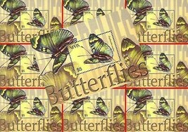$$ en Gros $$ Nevis 2003 Tropical Papillons S/S MNH Insectes - $9.36