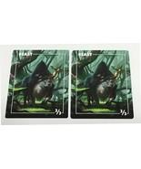 Magic The Gathering MTG 2x Beast Promo Tokens Card Kingdom Daarken Art - $4.50