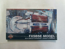 2014 HARLEY DAVIDSON FXSBSE OWNER OPERATORS OWNERS MANUAL NEW 2014 - $59.23