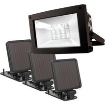 MAXSA Innovations 40331 Solar-Powered Ultrabright Flood Light - $99.97