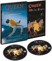 Queen Live at Wembley 1986 DVD 2 Disc Set Freddie Mercury New All Region - $31.95