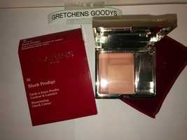 Clarins Blush Prodige Illuminating Cheek Color #02 Soft Peach NIB - $18.80