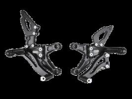 Bonamici Aluminum Adjustable 05-06 Kawasaki ZX-6R Rearsets Rear Sets - $439.99