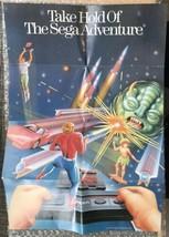 Vintage Sega Master System Promotional Poster - 100% Original/Authentic ... - $4.75