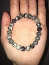 Nurturing and Consolation Handmade Natural Mesh Jasper Crystal Bracelet 8MM - $24.99
