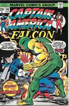 Captain America Comic Book #188, Marvel Comics 1975 VERY FINE+ - $9.74