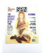 Spin Magazine Volume 5 Number 1 April 1989 Madonna 4th Anniversary Special - $48.37