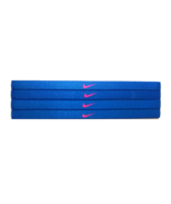 NEW Nike Girl`s Assorted All Sports Headbands 4 Pack Multi-Color #16 - $20.00