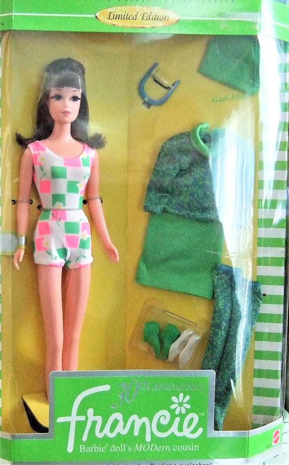 Barbie 30th Anniversary Francie Doll