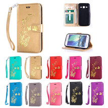 Stamping Golden Pattern Magnetic Stand Case for Samsung Galaxy J5 2016 J510 - $6.79+