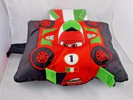 "Disney Cars Pillow Francesco Plush 13"" Long Stuffed Animal Toy - $6.26"