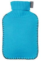 FASHY Hot Water Pack 67oz, Sky Blue Knit