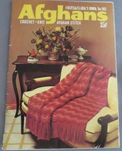Vintage COATS & CLARK Crochet & Knit Pattern Booklet #203 From the 70's ... - $3.60