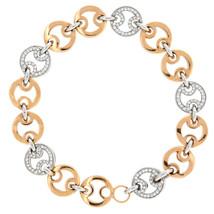 Donne Diamante Braccialetto a Maglie da Roberto Coin Incastonatura Pavé ... - $4,644.49