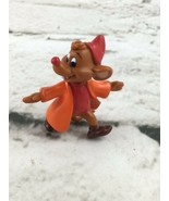 Disney Cinderella Mouse Jac Figure Tiny Small Orange - $11.88