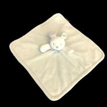 Blankets and Beyond Mint Green Bunny Security Blanket Lovey Nunu Zig Zag... - $24.74