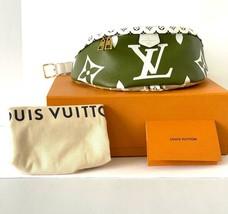 Louis Vuitton Bumbag Bum Bag Khaki Giant Mini Monogram M44611 - $2,673.00
