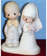 Bride & Groom Wedding Cake Top The Lord Bless You and Keep You PM # E-3114  - $59.99