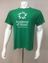 Academy Of Music In Grand Rapids T Shirt Green Adult M 38-40 - $19.60