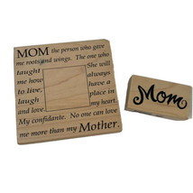 Set of 2 Rubber Mounted Stamps Mom Mother PSX & Rubber Stampede Mother's... - $14.99