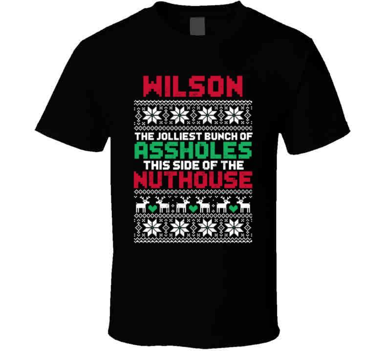 Wilson Jolliest Bunch Of Assholes Christmas Vacation Custom Family Holiday Gift