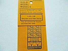 Gold Medal Models # 160-28 Bicycles and Bike Racks  N-Scale image 3