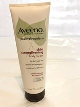 AVEENO POSITIVELY AGELESS SKIN STRENGTHENING BODY CREAM 7.3 OZ - $14.84