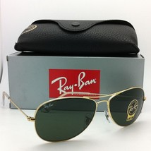 New Ray-Ban Sunglasses RB 3362 COCKPIT 001 59-14 Arista w/ G15 Crystal Green