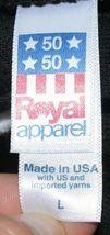 Royal Apparel I Am A Voter Hoodie Color Black Size Large image 5