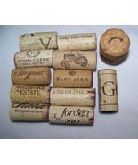 Wine Corks with a Name Phrase or Special Year for Wedding Anniversary Bi... - $2.08+