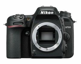Nikon D7500 Schwarz Körper 20.9mp Digital SLR Kamera Weltweit - $1,145.94