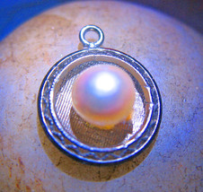 FREE W $100 Haunted PENDANT 27X BLOOD MOON ECLIPSE 2014 MAGICK 925 PEARL WITCH  - Freebie