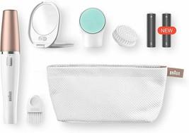 Braun Facespa 851 Sistema 3 IN 1 Of Epilator Facial Brush Cleaner And Ma... - $299.00