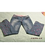 Pepe Jeans London 36 Regular Stud Details Pink Embroidery  - $23.08