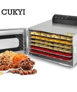 CUKYI 6-tray food dehydrator - $208.02