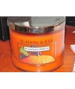 Slatkin & Co. Pumpkin Patch Scented Candle 3-Wick 14.5 oz Bath & Body Works - $88.99