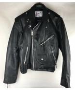 Vintage Vanguard American Legend Handpainted London U.K. Leather Jacket - $88.83