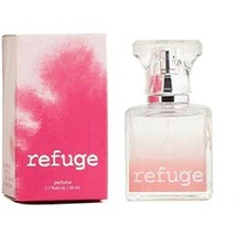 Charlotte Russe Refuge Perfume 1.7 Ounce Blended Pink Box Retired Versio... - $35.03