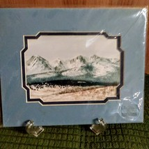"""Nancy Balyeat  Watercolor Painting  New  8"""" x 10""""  Double Matted Original Sealed image 2"""