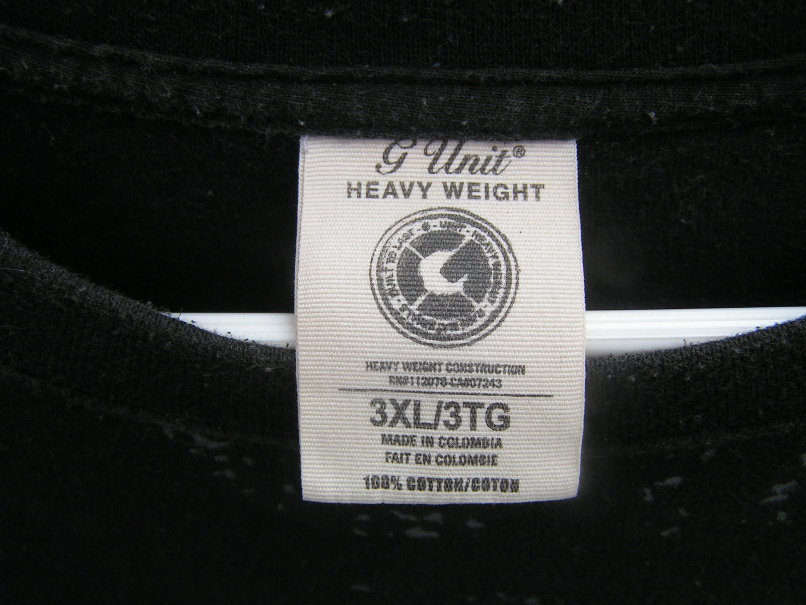G Unit Heavy Weight # 173-001333 Black Shirt Men's 3XL Shirt - $11.75
