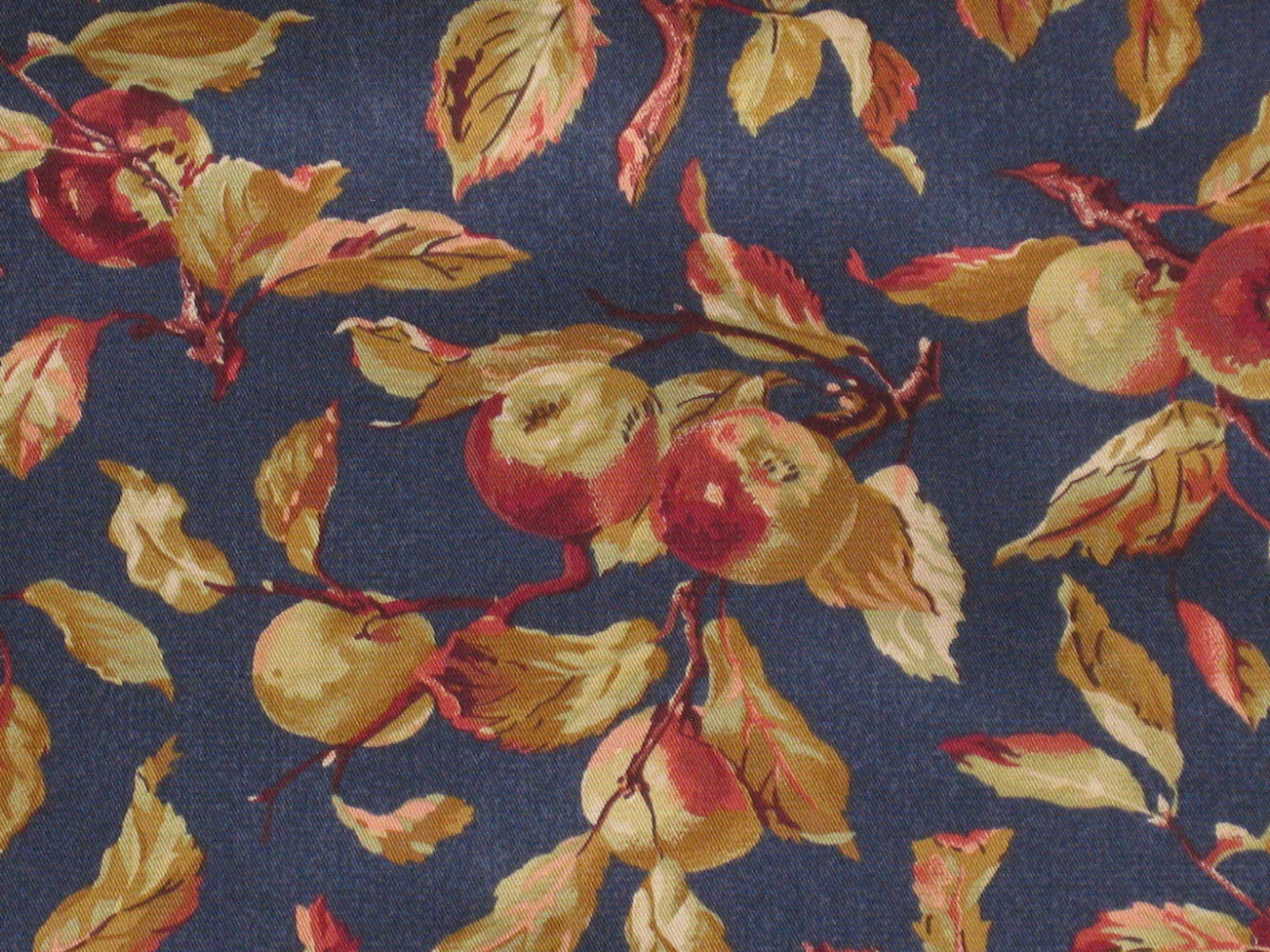 Primary image for Longaberger Small Berry Blueberry Booking Basket Harvest Fabric DI Liner Only