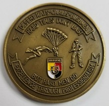 US ARMY 3rd Special Forces Group Airborne Desert Rats - Caribs - Bushmen Coin - $296.99