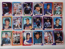 1990 Topps Minnesota Twins Team Set of 30 Baseball Cards image 3