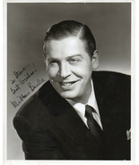 MILTON BERLE SIGNED 8X10 PHOTOGRAPH. STAR OF STAGE, SCREEN AND TV. - $19.79