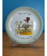 1972 Holly Hobbie When You're Happy There Are Rainbows Every Day Collect... - $8.86