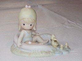 Precious Moments August 1988 Figurine #110078 Samuel J Butcher Pre Owned ~ - $39.59