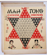 1940'S VINTAGE Mah Tong Chinese Checkers/Checker Board ALOX MFG St Louis MO - £23.41 GBP