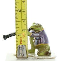 Hagen Renaker Miniature Frog Toadally Brass Band Clarinet Ceramic Figurine image 7