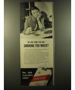 1950 Embassy Cigarettes Ad - $14.99
