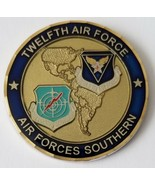 USAF 12th Twelfth Air Forces Southern 3 Star Presented By The Commander - $49.49